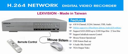 DVR Lexvision H.264